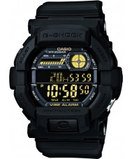 Casio GD-350-1BER Mens G-Shock World Time Black Watch