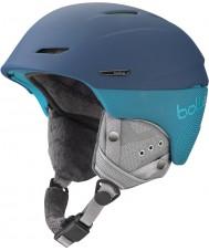Bolle 30964 Millenium Soft Blue and Green Ski Helmet - 54-58cm