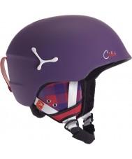 Cebe CBH109 Suspense Deluxe Matte Violet Square Ski Helmet - 54-56cm