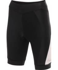 Dare2b Ladies Gratify Cycle Black White Shorts