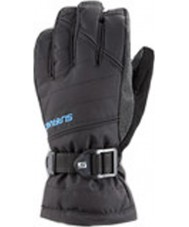 Surfanic SW123700-001-020-4-6 Boys Snapper Black Gloves - 4-6 years