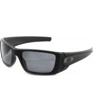 Oakley OO9096-05 Fuel Cell Matte Black - Grey Polarized Sunglasses