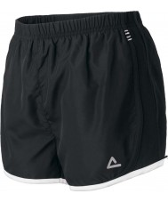 Dare2b Ladies Pounded Black Methyl Shorts