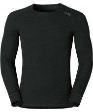 Odlo Mens Black Baselayer Top