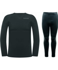 Dare2b Mens Zonal III Black Baselayer Set