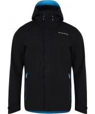 Dare2b DMW371-80035-XXS Mens Provision II Black Waterproof Shell Jacket - Size XXS
