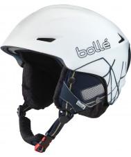 Bolle 31191 Sharp White Iceberg Ski Helmet - 61-63cm