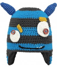 Barts 2267304 Kids Moster Blue Beanie - 1-3 years