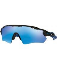 Oakley OO9208-20 Radar EV Path Polished Black - Sapphire Iridium Sunglasses