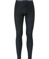 Odlo Mens Trend Black Long John Pants