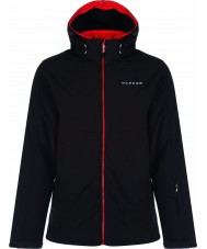 Dare2b DML326-80060-M Mens Reconcile Black Softshell Jacket - Size M