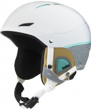 Bolle 31192 Juliet Soft White and Grey Ski Helmet - 52-54cm
