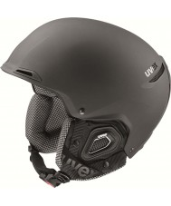 Uvex 5661822007 Jakk Plus Black Ski Helmet with Octo Plus Technology - 59-62cm