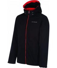 Dare2b Mens Reconcile Black Softshell Jacket