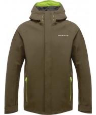 Dare2b DMW371-3C435-XXS Mens Provision II Camo Green Waterproof Shell Jacket - Size XXS