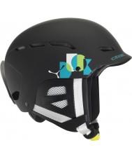 Cebe CBH114 Dusk Jr Black Name Ski Helmet - 49-53cm