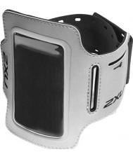 2XU UQ2409G-SIL-BLK-OSFA Silver iPod Holder