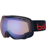 Bolle 21449 Emperor Blue and Red Dots - Aurora Ski Goggles