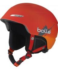 Bolle 31200 B-Yond Soft Red Gradient Ski Helmet - 58-61cm
