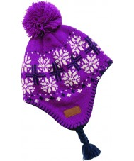 Dare2b DGC006-95XC06 Girls Candygirl Purple Hat - 7-10 years