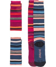 Protest 9613072-337-39-42 Ladies Costa Duo Pack Socks