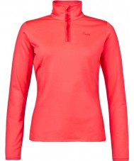 Protest Ladies Fabrizoy Pink Cerise Zip Top