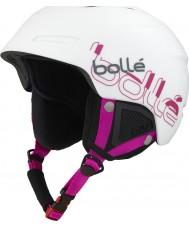 Bolle 31206 B-Yond White and Pink Ski Helmet - 58-61cm
