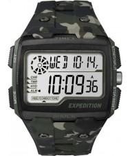 Timex TW4B02900 Mens Expedition Digital Shock Khaki Camo Chrono Watch