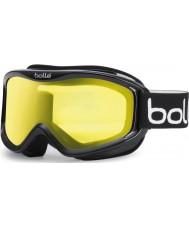 Bolle 20573 Mojo Shiny Black - Lemon Ski Goggles