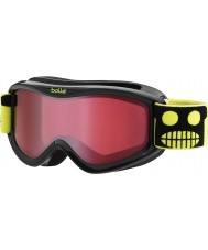 Bolle 21105 AMP Black Robot - Vermillion Ski Goggles - 3-8 Years