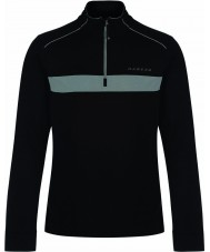 Dare2b Mens Sanction Black Core Stretch Midlayer