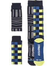 Protest Mens Graphic Duo Pack Socks