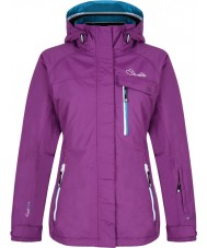 Dare2b DWP307-7JX06L Ladies Breathtaker Performance Purple Jacket - Size 6