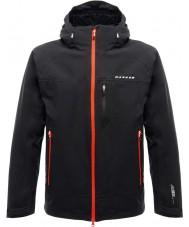 Dare2b DMW368-80050-S Mens Vigilence Black Waterproof Shell Jacket - Size S