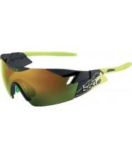 Bolle 6th Sense Matt Smoke Green Brown Emerald Sunglasses