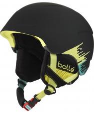 Bolle 31215 B-Lieve Soft Black Brush Ski Helmet - 51-53cm