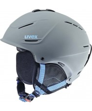 Uvex 5661535407 P1us Grey Blue Ski Helmet - 59-62cm