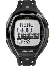 Timex TW5K96400 Ironman 150-Lap Full Size Sleek Black Resin Strap Chronograph Watch