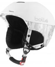 Bolle 30375 Synergy Soft White Ski Helmet - 58-61cm