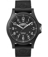 Timex TW4B08100 Mens Expedition Black Fabric Strap Watch