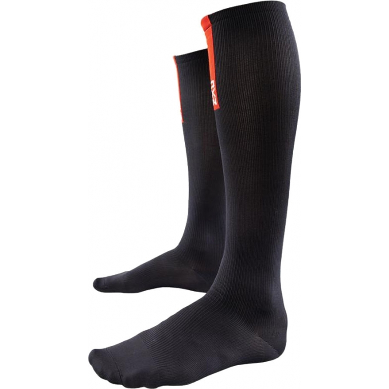 2XU WA1956E-BLK-L Ladies PWX Black Compression Socks for Recovery - Size L