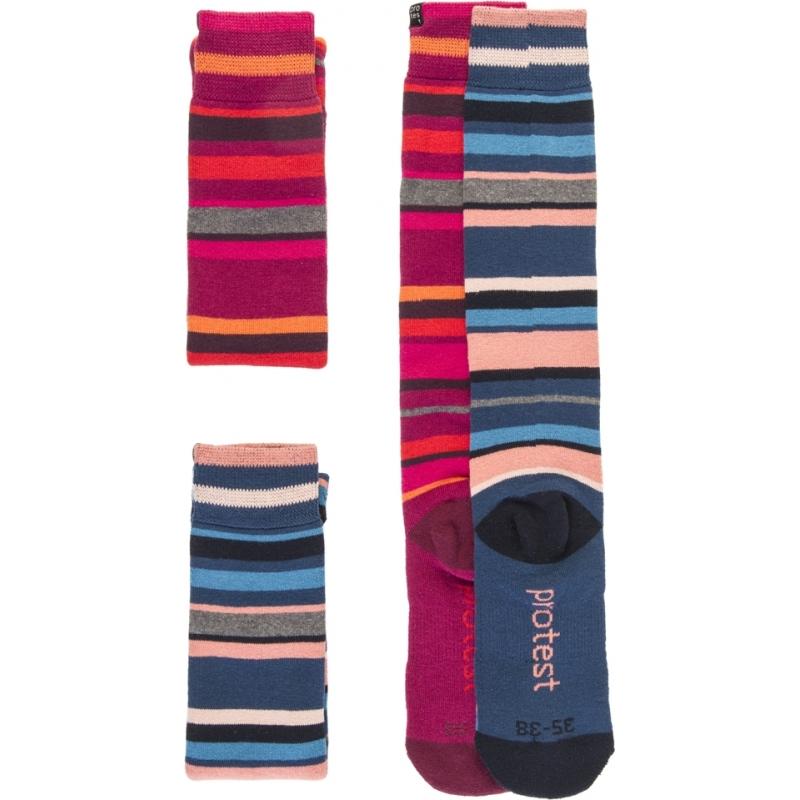 Protest 9613072-337-35-38 Ladies Costa Duo Pack Socks
