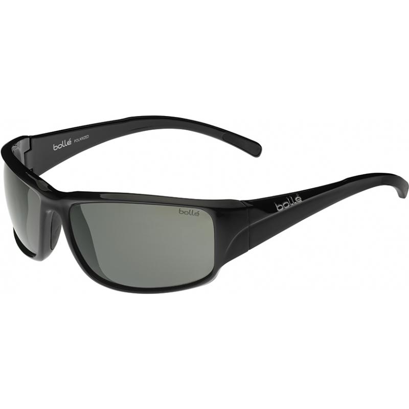 Bolle 11901 Keelback glänzend schwarz polarisierten Sonnenbrillen tns