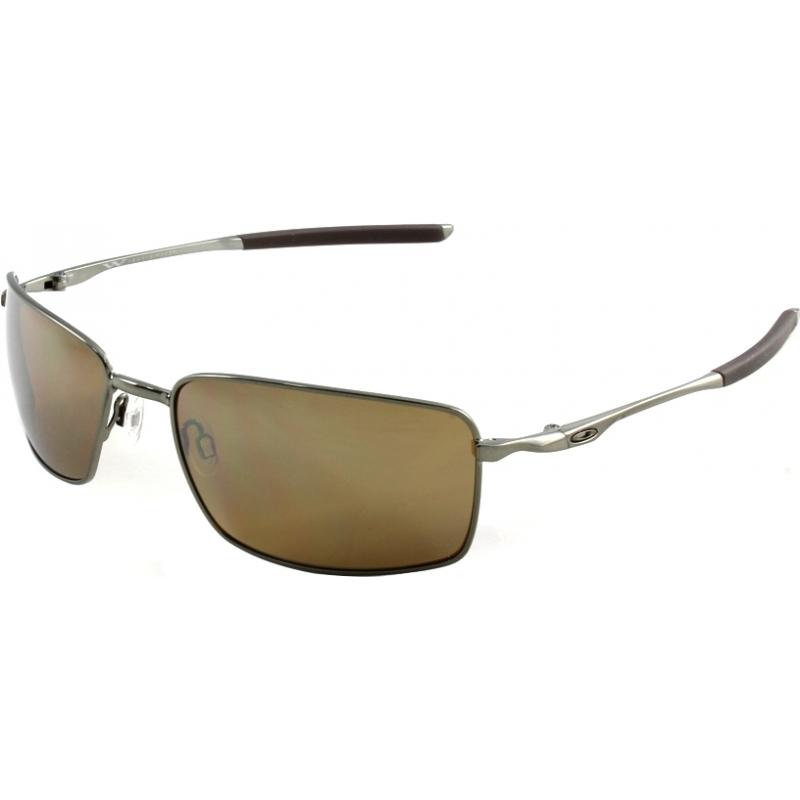 9069377b11 Oakley OO4075-06 OO4075-06 Square Wire Tungsten Iridium Polarized Sunglasses