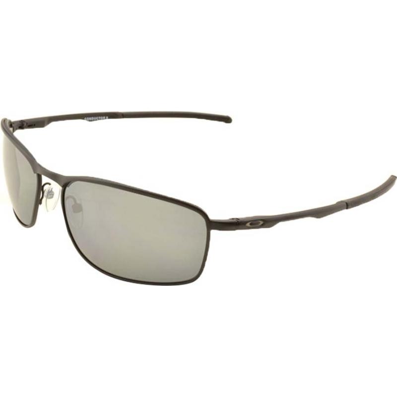 4de3a07039 Oakley OO4107-02 Conductor 8 Matte Black - Black Iridium Polarized  Sunglasses