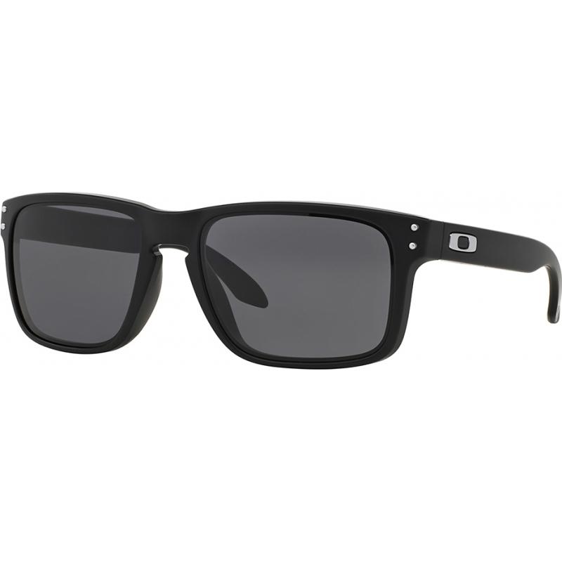 abdbcf440 Oakley OO9102-01 OO9102-01 Holbrook preto fosco - óculos de sol cinza quente