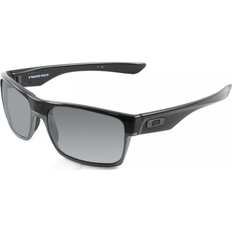 Oakley OO9189-01 Oo9189-01 Twoface schwarz poliert - schwarz Iridium polarisierten Sonnenbrillen