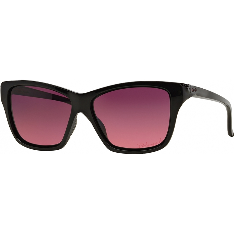 Oakley OO9298-02 Oo9298-02 halten auf schwarz poliert - Rose Gradienten polarisierten Sonnenbrillen