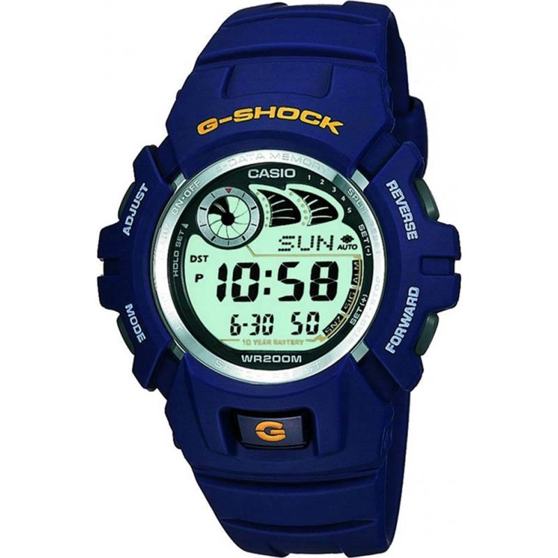 Casio G-2900F-2VER Mens G-SHOCK e-databank blue watch