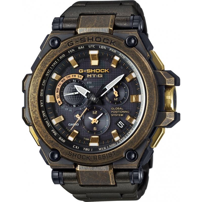 ced7746db2 Mens G-Shock Black Radio Controlled GPS Watch